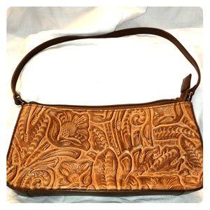 Brown handbag by Q&A